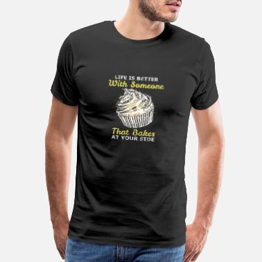 Tarts Bake cream tart - Men's Premium T-Shirt