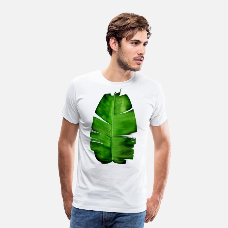 7530362f4 Banana Leaf Painting T-shirt Men's Premium T-Shirt | Spreadshirt