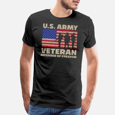 Us Army Veteran Veterans Day - US Army Veteran - Men's Premium T-Shirt