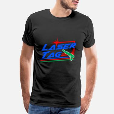Gun Rights Laser Tag Game Sport Hobby Lazer Gun Gift Idea - Men's Premium T-Shirt