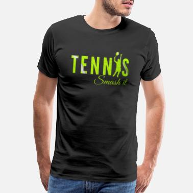 Court Tennis, Tennisplayer , Tennis game - Men's Premium T-Shirt