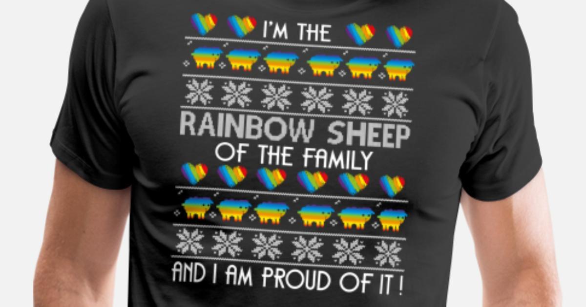 17c82f45 I'm The Rainbow Sheep Of The Family T Shirt Men's Premium T-Shirt ...