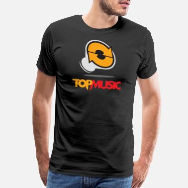 Speaker System Top Music Club Logo - Men's Premium T-Shirt