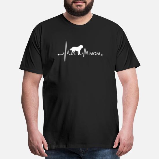 Saint Bernard Heartbeat Dogs Lover Cute Funny Gifts Idea for Men WOM Sweatshirt