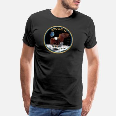 Nasa Neil Armstrong space station space museum rocket - Men's Premium T-Shirt