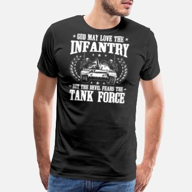 Army Tank Tank Force/Panzer/Tank/Troops/Army/Gift/Present - Men's Premium T-Shirt
