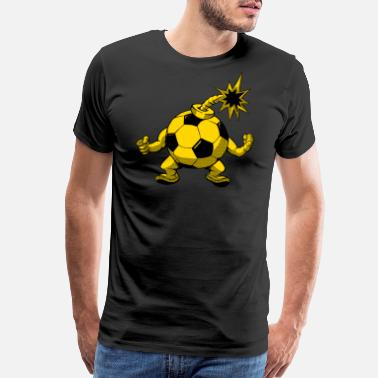Bomb Squad Soccer Fan - Men's Premium T-Shirt