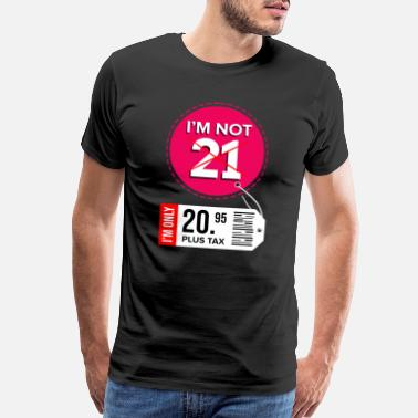 21 Year Old 21th Birthday 21 Years twenty one Years - Men's Premium T-Shirt