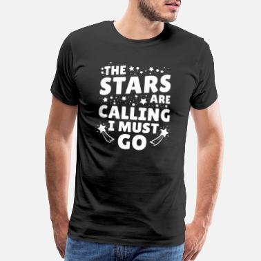 Funny Space Astronomy Universe Stars Astronaut Space Geek Gift - Men's Premium T-Shirt