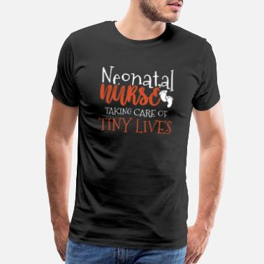 Brain Quote Neonatal Nurse Practitioner Nicu Nursing Baby Gift - Men's Premium T-Shirt