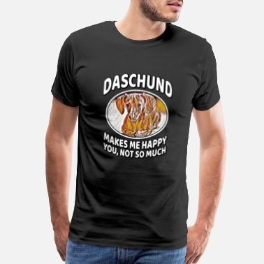 Better Than Yours Daschund Dog Funny Dog quote Gift - Men's Premium T-Shirt
