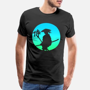 Swords Samurai Japan - Men's Premium T-Shirt