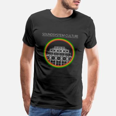 Dubstep Soundsystem Reggae Culture - Men's Premium T-Shirt