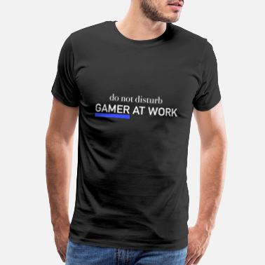 Twitch gamer player gaming streamer tv play video game pc - Men's Premium T-Shirt