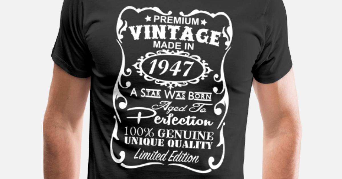 70th Birthday Gift Ideas For Men Mens Premium T Shirt Spreadshirt