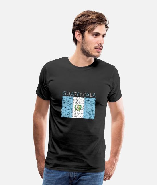 Artist T-Shirts - Guatemala - Art design - Men's Premium T-Shirt black