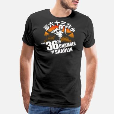 Shaw Brothers THE 36th CHAMBER OF SHAOLIN Classic Kungfu Movie - Men's Premium T-Shirt