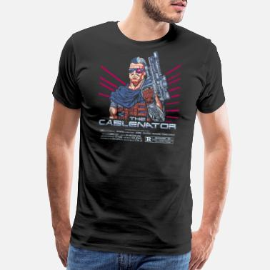 Cable The Cablenator - Men's Premium T-Shirt