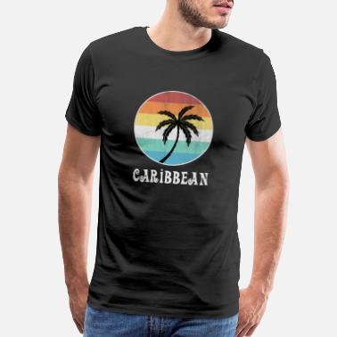 Summer Holidays Caribbean - Men's Premium T-Shirt