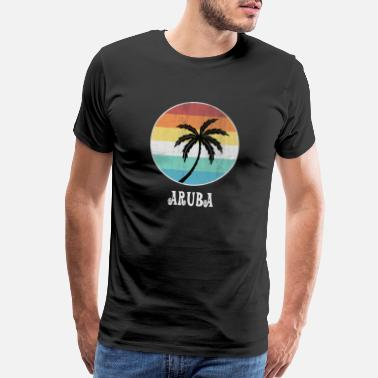 Holiday Island Aruba - Men's Premium T-Shirt
