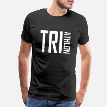 Womens Triathlon Triathlon - swimming, cycling, running, gift - Men's Premium T-Shirt