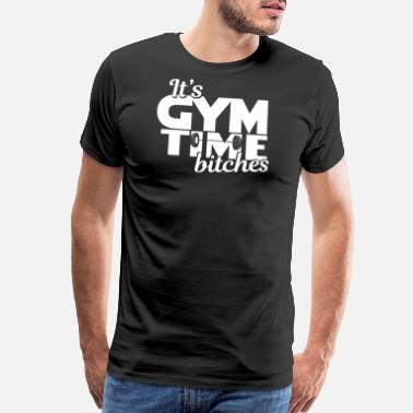 Working Fitness - Fit - Work out - Working out - Gym - Men's Premium T-Shirt