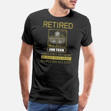 Retiret Eod Tech Retiret - Men's Premium T-Shirt
