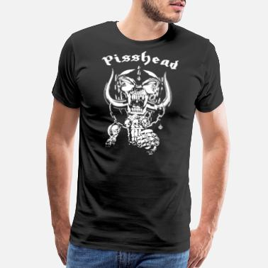 Funny Heavy Metal pisshead funny heavy metal - Men's Premium T-Shirt