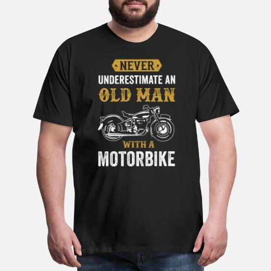 Mens Motorcyclist NOUN T Shirt Funny Motorbike Clothing Fathers Dad Biker Gift