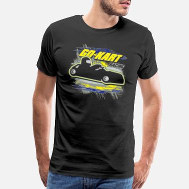 Gokart Pro Go Kart Racing - Men's Premium T-Shirt