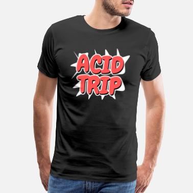 Molly Acid Trip - Comic Style - Men's Premium T-Shirt