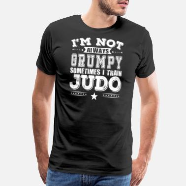 Awesome Brother Grumpy Judo Fighter Cute Gift - Men's Premium T-Shirt