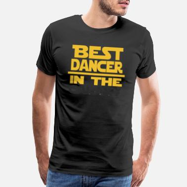 Dad Marathon Best Dancer In The Galaxy Dancer Gift - Men's Premium T-Shirt