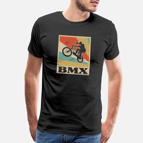 Birthday T-Shirts - BMX Bike Rider Bicycle Motocross Retro Gift Idea - Men s  Premium. Do you want to edit the design  acd5995f4