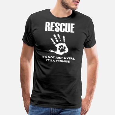 fa1e4fb34b86 Dog Rescue Rescue Dog 2 - Men's Premium T-Shirt
