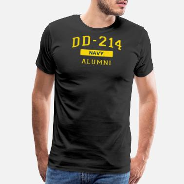 Seaman Military DD214 U.S. Navy Alumni T Shirt for a Retired Hero - Men's Premium T-Shirt