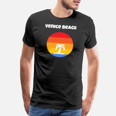 California Beach Venice Beach California - Men's Premium T-Shirt