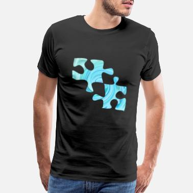 Swirl Jigsaw - Men's Premium T-Shirt