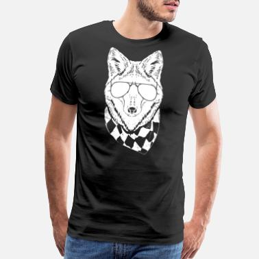Furry Fox Furry Fox - Men's Premium T-Shirt