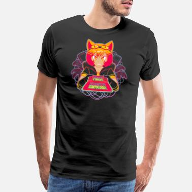 Videogames Awesome Catgirls and Videogames - Men's Premium T-Shirt