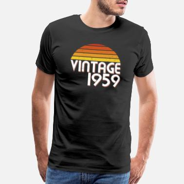 Turning 60 60th Birthday Years Old Vintage Since 1959 Gift