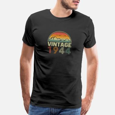 1944 Classic Vintage 1944 Birthday Gift Idea - Men's Premium T-Shirt
