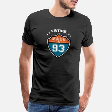 Awesome Since Vintage Made In 93 1993 Birthday Gift - Men's Premium T-Shirt