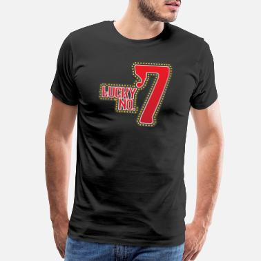 Slot-machines Lucky number 7 keno lotto casino las vegas slots - Men's Premium T-Shirt