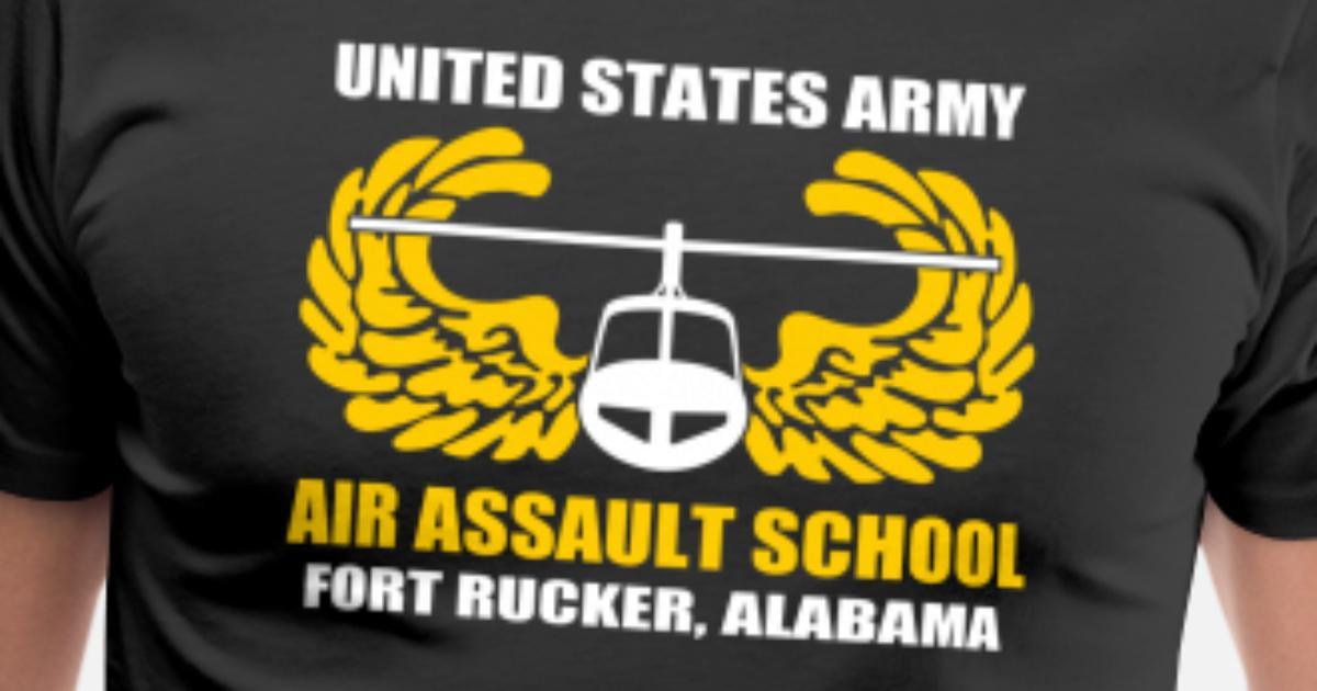 Air Assault Us Army Fort Rucker Alabama Men S Premium T Shirt
