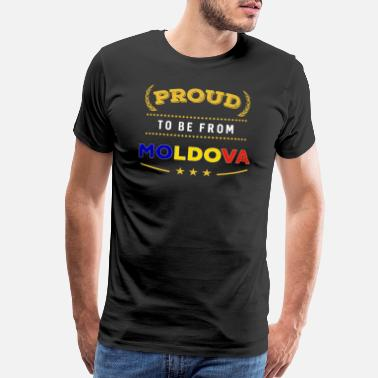 Moldova Proud To Be From Moldova Pride - Men's Premium T-Shirt