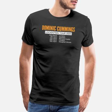 Dominica Dominic Cummings Tour 2020 - Men's Premium T-Shirt