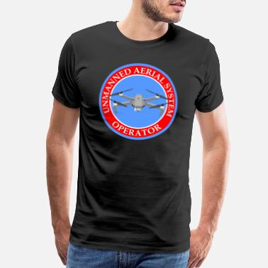 Dji BadgeWork UAS Mavic - Men's Premium T-Shirt