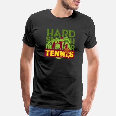 Styling Tennis Motivational Gift T-Shirt - Men's Premium T-Shirt