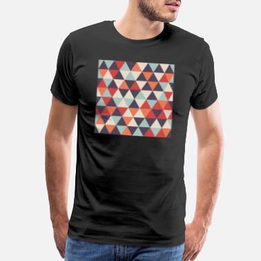 Trending Now Funky Geometric Pattern - Men's Premium T-Shirt
